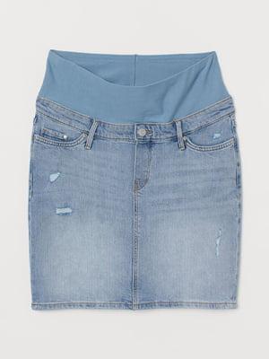 Спідниця джинсова блакитна | 5819472