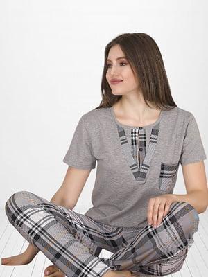 Комплект: брюки и футболка   5821258