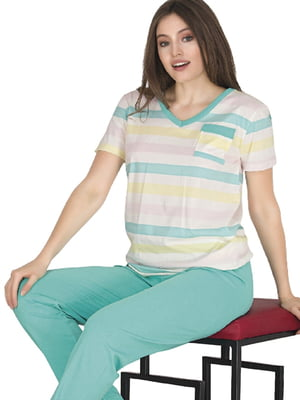 Комплект: брюки и футболка | 5821260