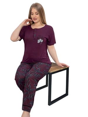 Комплект: брюки и футболка | 5821272