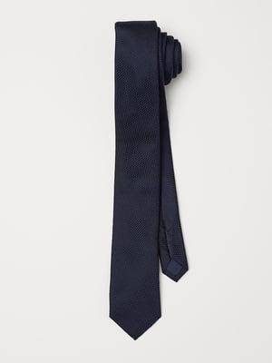 Краватка синя з візерунком | 5820934