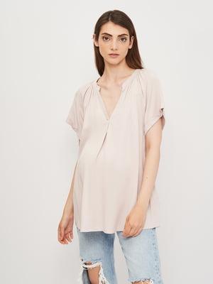 Блуза для беременных сиреневая | 5821024