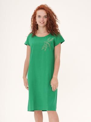 Платье зеленое   5821278