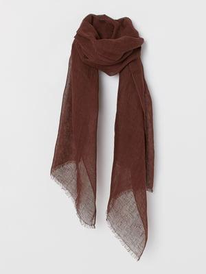 Шарф коричневий   5822102
