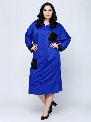 Сукня-сорочка синя   5823148