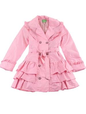 Плащ розовый   5823850