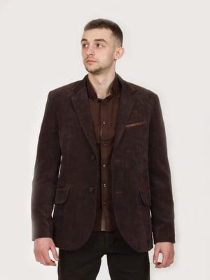 Пиджак коричневый | 5824411