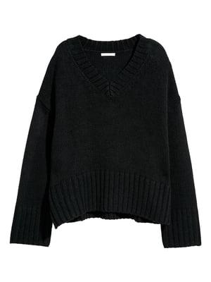 Пуловер черный | 5821599