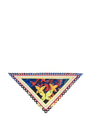 Косинка різнокольорова з малюнком | 5826258