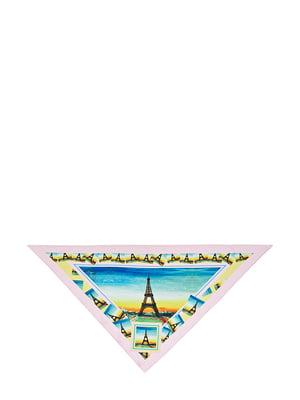 Косинка різнокольорова з малюнком | 5826260