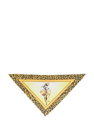 Косинка різнокольорова з малюнком | 5826268