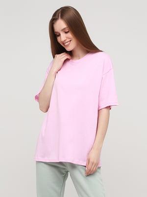 Футболка рожева | 5826337