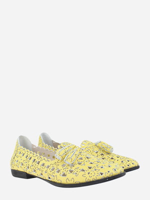 Балетки желтые   5813077