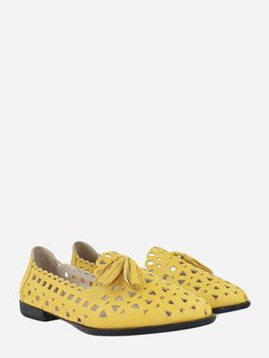 Балетки желтые | 5813080
