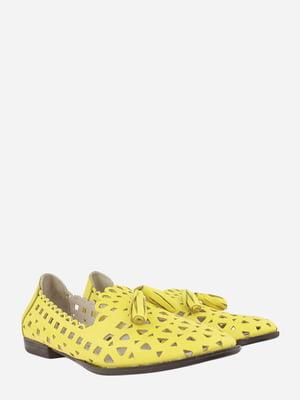 Балетки жовті | 5827404
