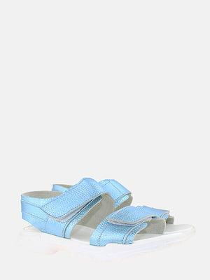 Босоножки голубые | 5827516