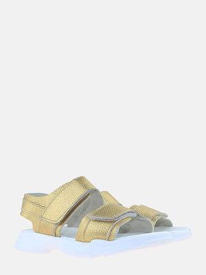Босоножки золотистого цвета | 5827517