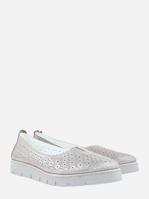 Туфлі стального кольору   5827591