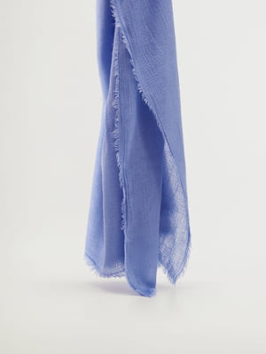 Шарф блакитний | 5828602
