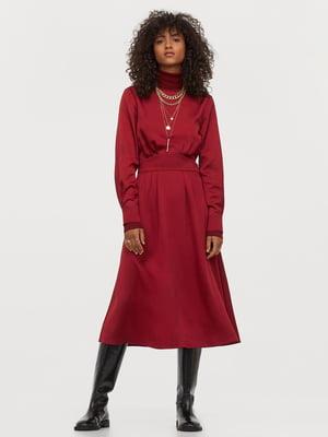Сукня бордова | 5829545