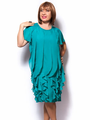 Платье бирюзовое   3384822