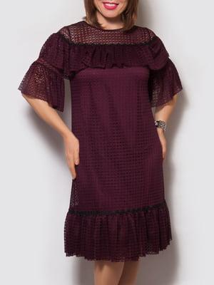 Сукня бордова   4132159