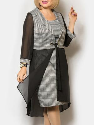 Комплект: платье и кардиган   5262553