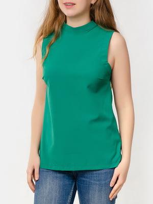 Блуза-топ зелена   5579696