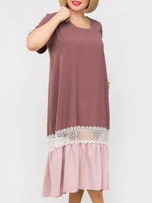 Платье двухцветное | 5781669