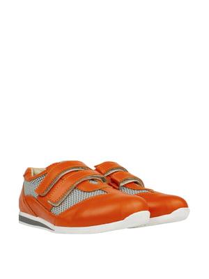 Кроссовки оранжевые   5830339