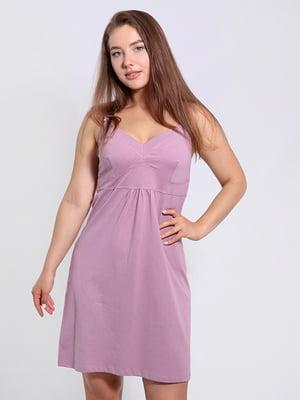 Рубашка ночная розовая | 5830617