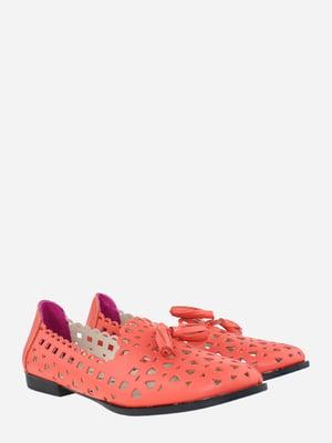 Балетки кораллового цвета | 5813081