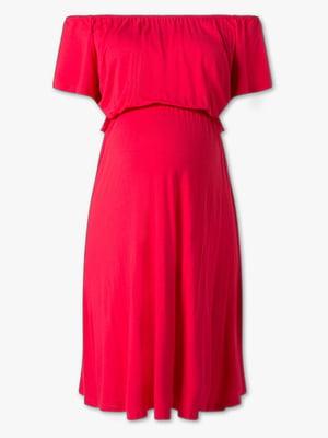 Платье для беременных красное | 5827034