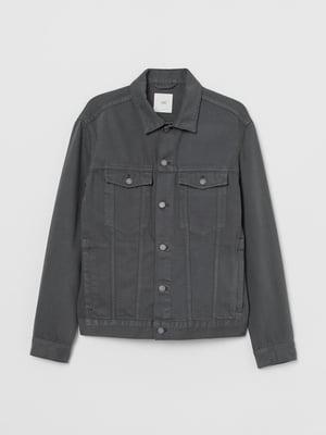 Куртка джинсова темно-сіра | 5832065