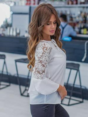 Блуза біла | 5832516