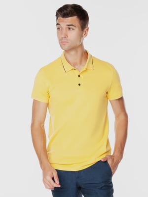 Футболка-поло жовта | 5832722