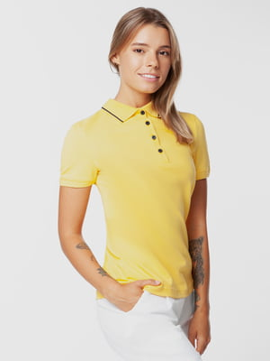 Футболка-поло жовта | 5832731