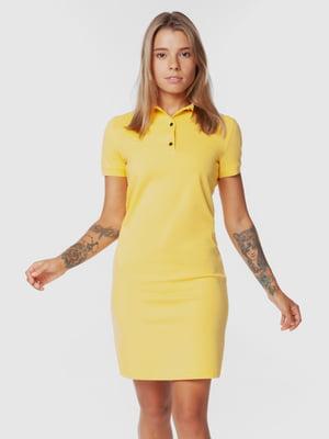 Платье желтое | 5832733