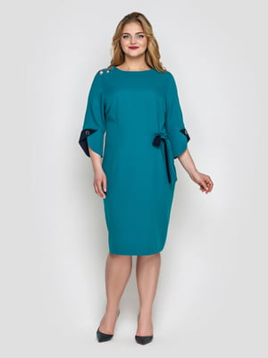 Платье бирюзовое   5128949
