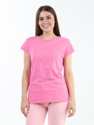 Футболка рожева | 5836246