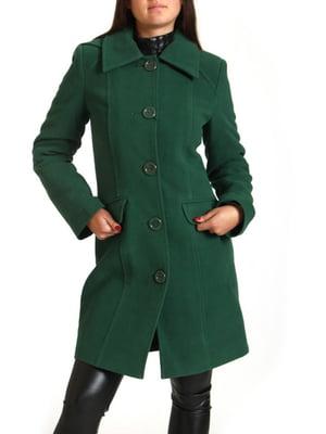Пальто зеленое   5791819