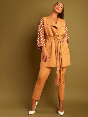 Костюм: блуза, жилет и брюки   5847674