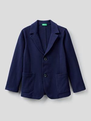 Пиджак темно-синий | 5838204