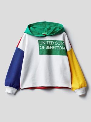 Худи разноцветная с надписью | 5838311