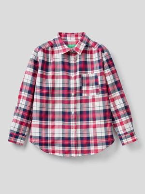 Рубашка клетчатая | 5838539