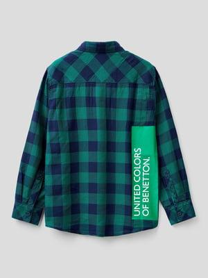 Рубашка клетчатая | 5838541
