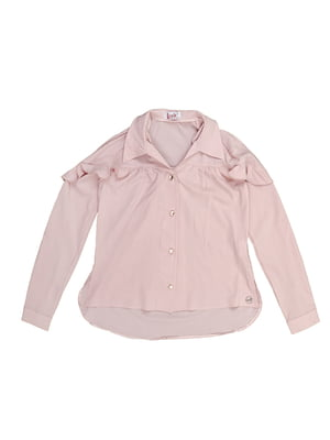 Рубашка розовая | 5747687