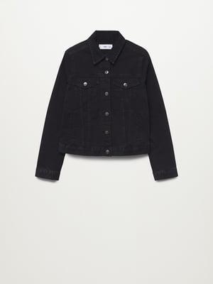 Куртка черная джинсовая | 5837366