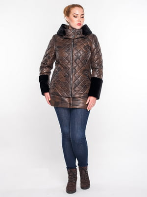 Куртка коричневая | 5847910