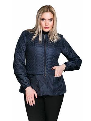 Куртка темно-синя   5847979
